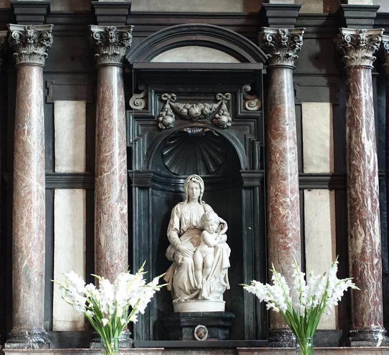 Michelangelo's Madonna and Child