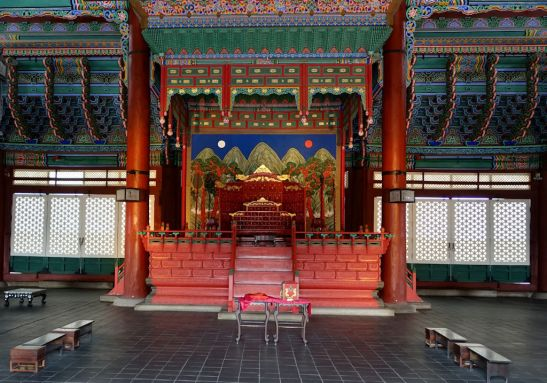 Gyeongbokgung Palace, throne hall, Seoul