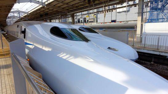 Shinkansen Race!